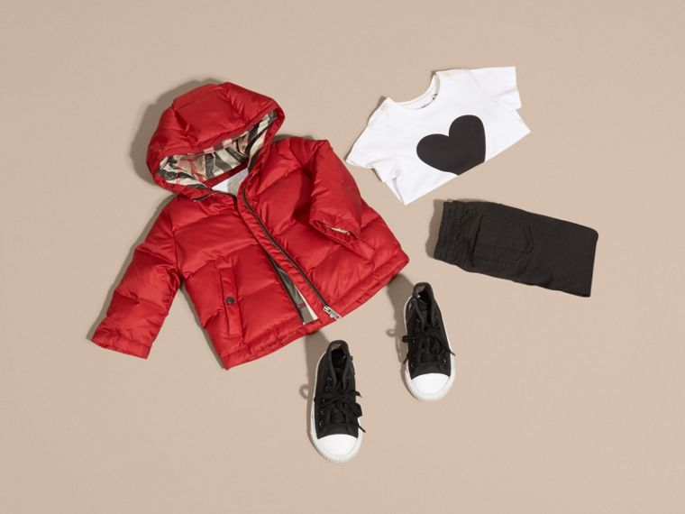 Hooded Down-filled Puffer Coat | Burberry - cell image 4