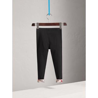 Burberry - Leggings en coton extensible - 4