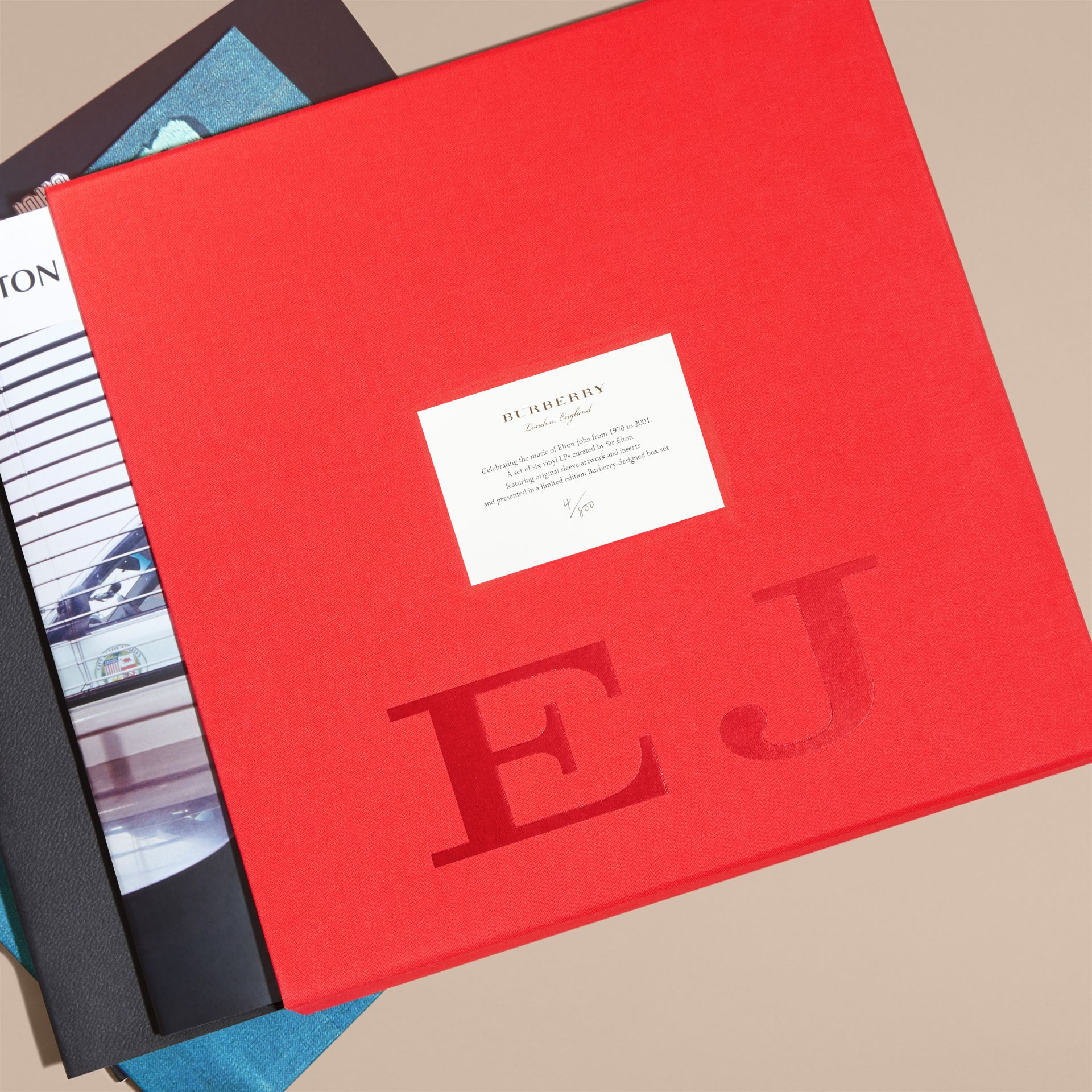 Multicolour Elton John: A Limited Edition Vinyl Box Set for Burberry - gallery image 2