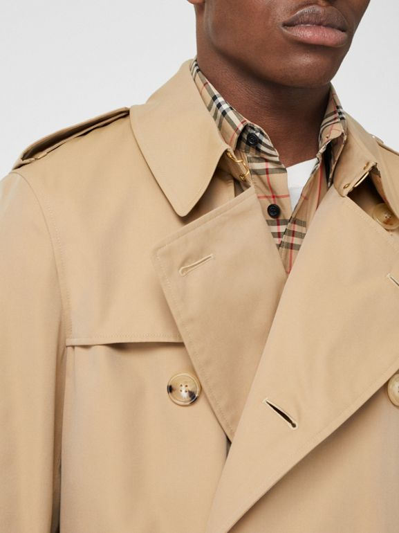 Trench Heritage The Chelsea (Miel) - Homme | Burberry Canada - cell image 1