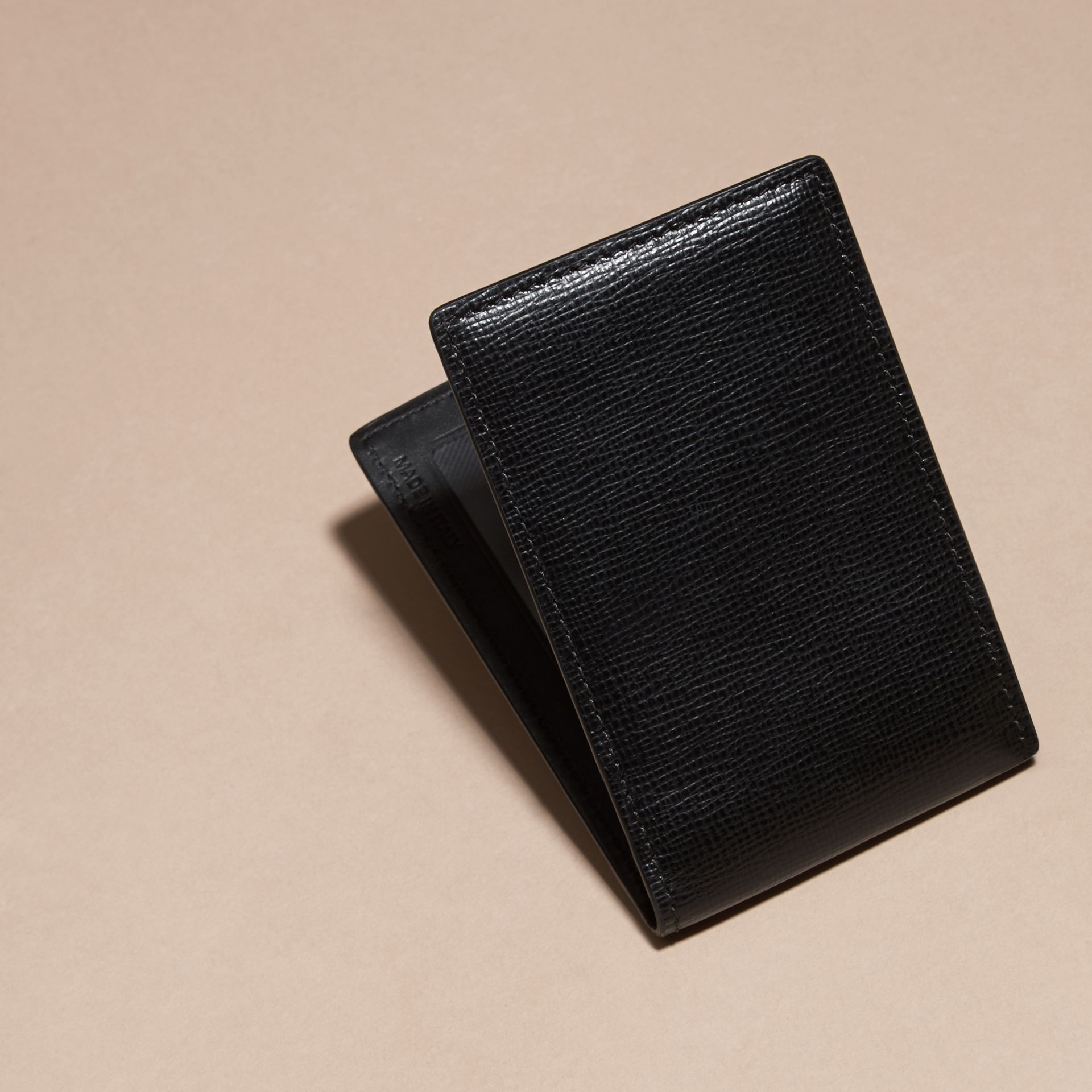 London Leather ID Wallet Black - gallery image 4
