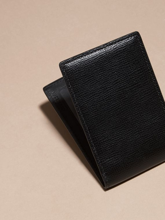 London Leather ID Wallet in Black - cell image 3
