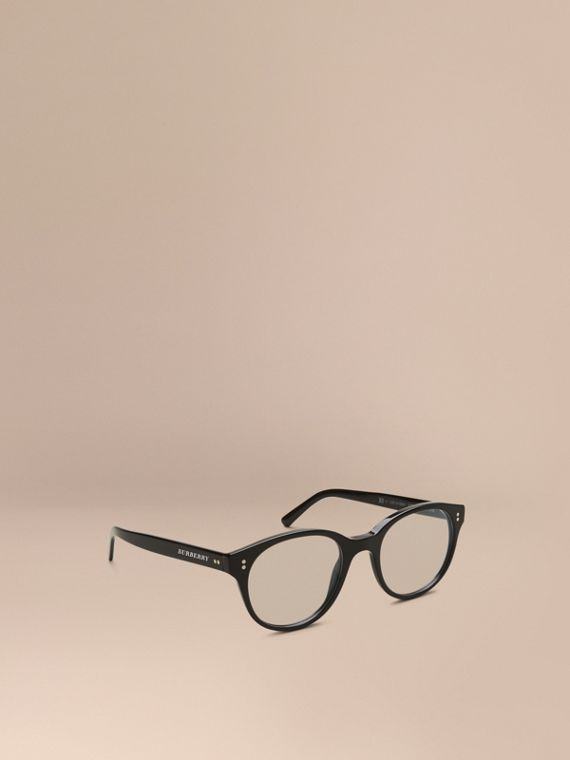Round Optical Frames Black