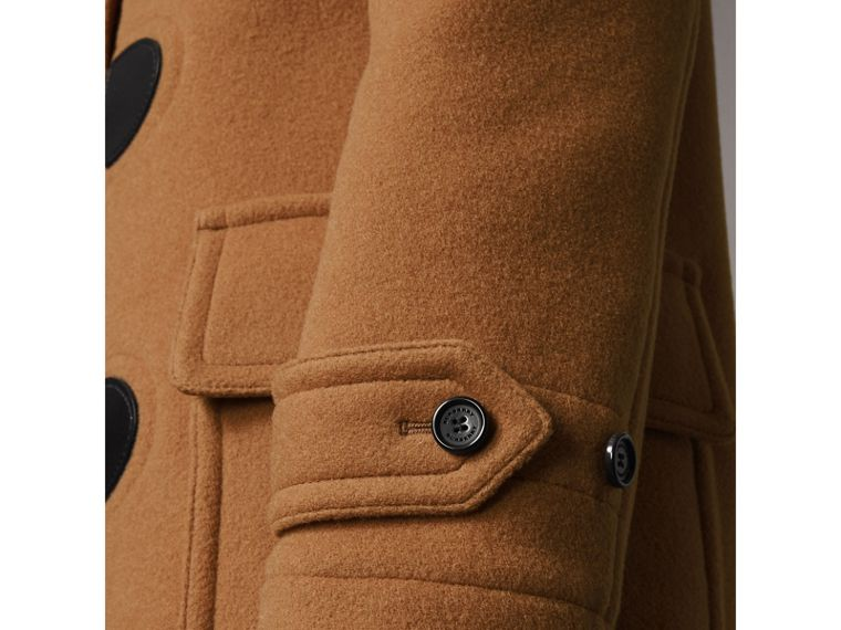 The Mersey Duffle Coat in Mid Camel - Women | Burberry Singapore - cell image 4