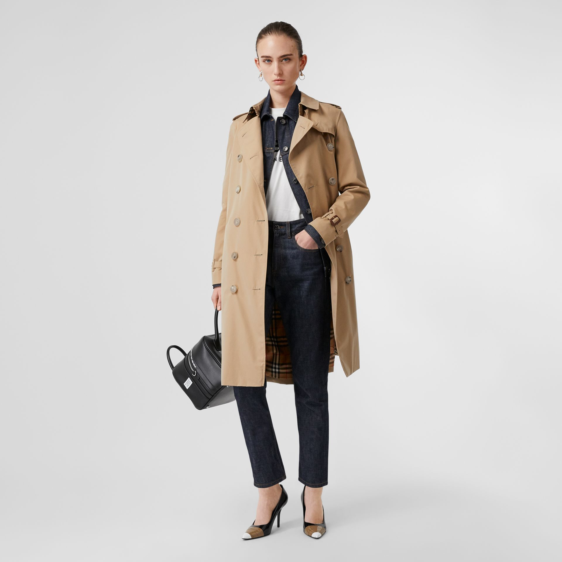 The Kensington – Trench Heritage long (Miel) - Femme | Burberry - photo de la galerie 0
