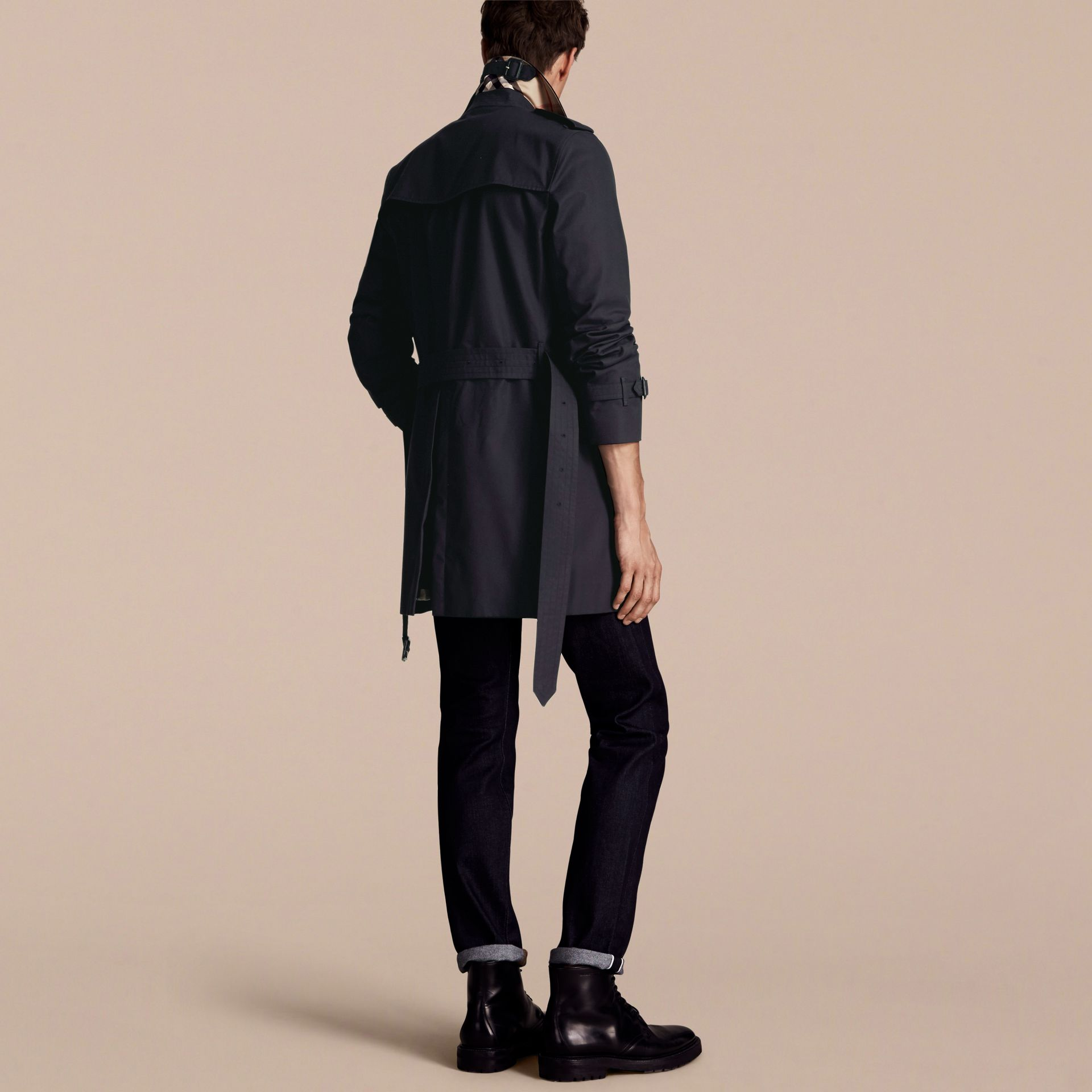 Navy The Kensington - Trench coat Heritage medio Navy - immagine della galleria 3