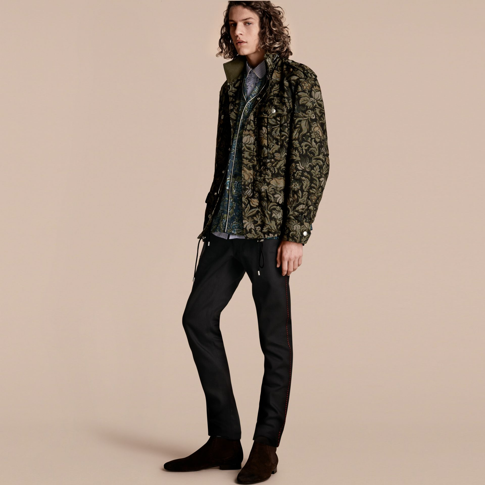 Sage The Floral Field Jacket - gallery image 1