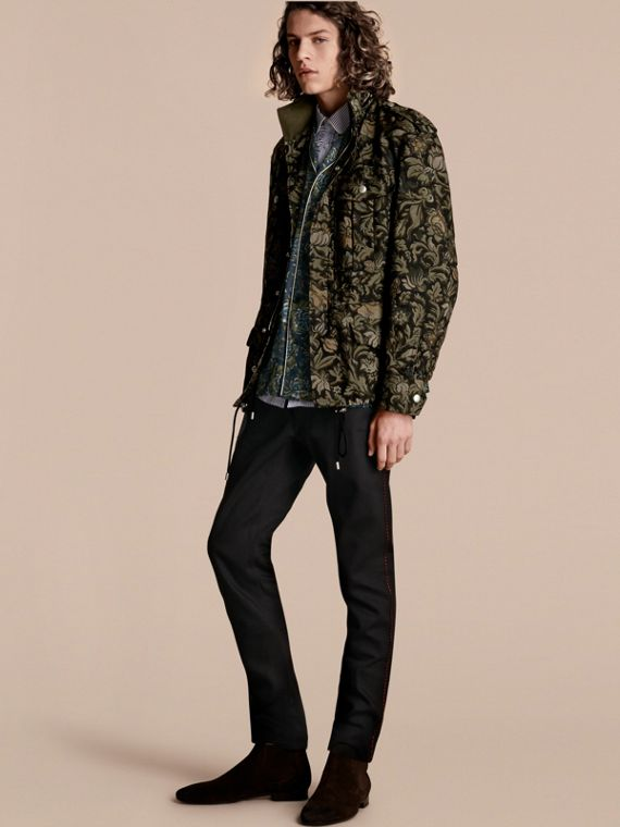 The Floral Field Jacket