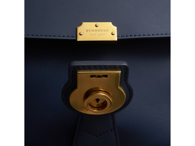 The Medium DK88 Top Handle Bag in Ink Blue - Women | Burberry - cell image 4