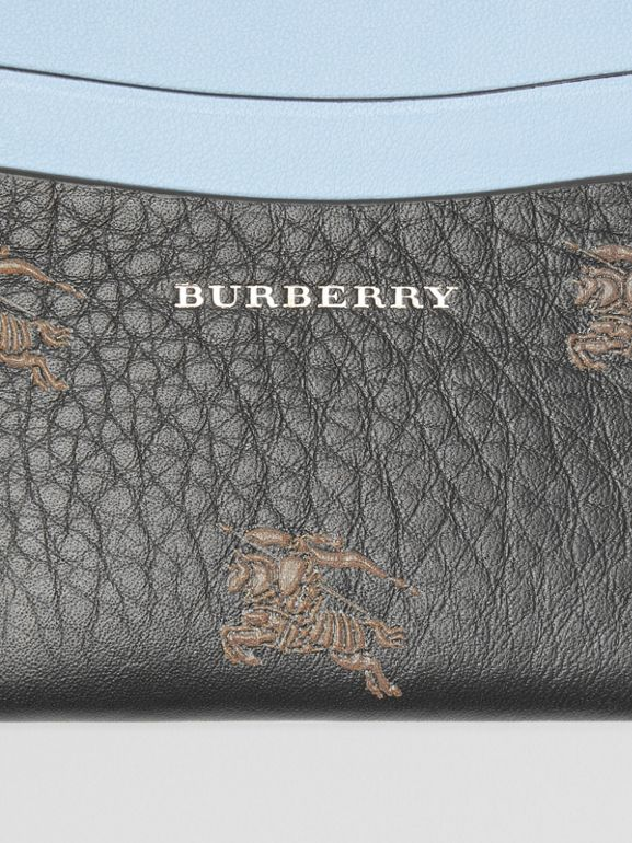 EKD Leather Card Case in Black - Women | Burberry - cell image 1