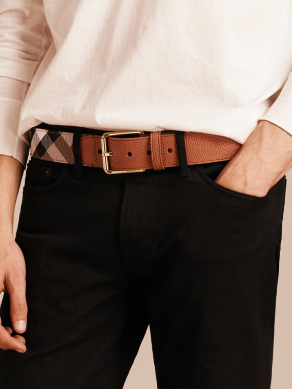 House Check and Leather Belt - cell image 2