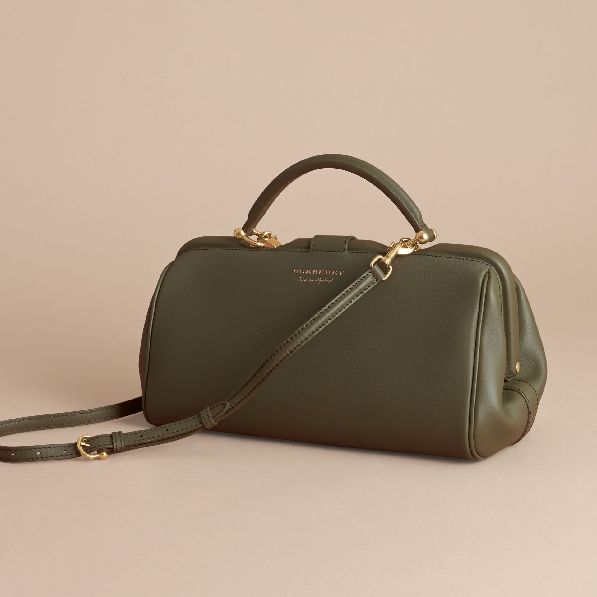 The DK88 Bowling Bag in Moss Green - Women | Burberry United Kingdom - gallery image 5