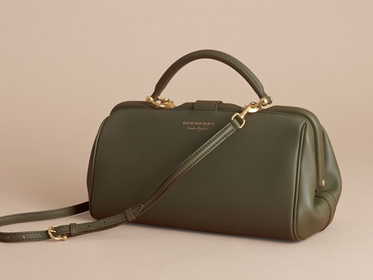 The DK88 Bowling Bag in Moss Green - Women | Burberry - cell image 4