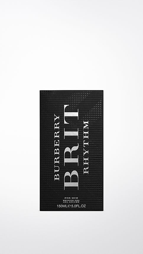 Clear Burberry Brit Rhythm Shower Gel 150ml - Image 2