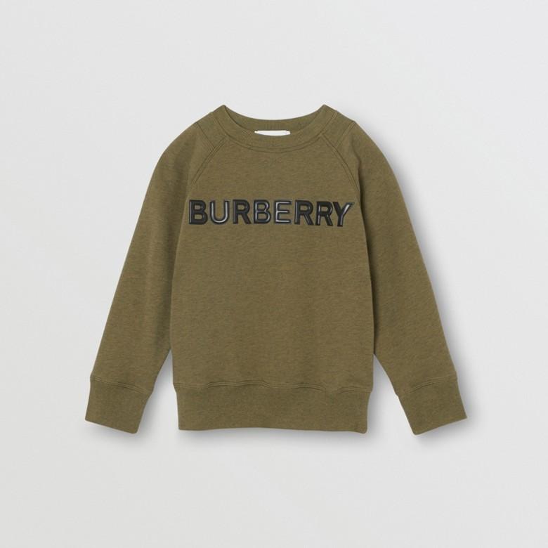 Burberry - Sweat-shirt en coton avec logo - 1