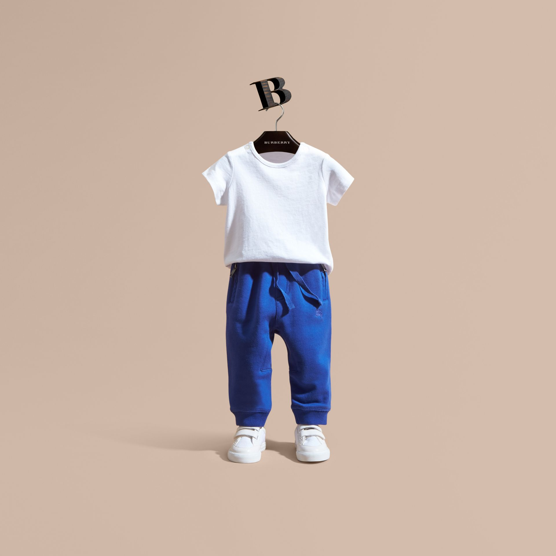 Drawcord Cotton Sweatpants - gallery image 1