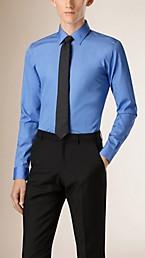 Slim Fit Cotton Poplin Shirt