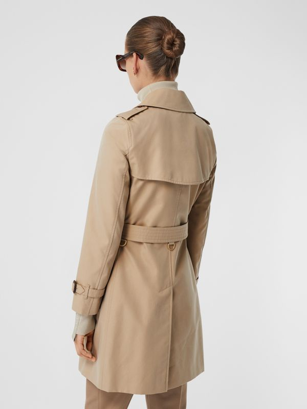 The Short Islington Trench Coat in Honey - Women | Burberry - cell image 2