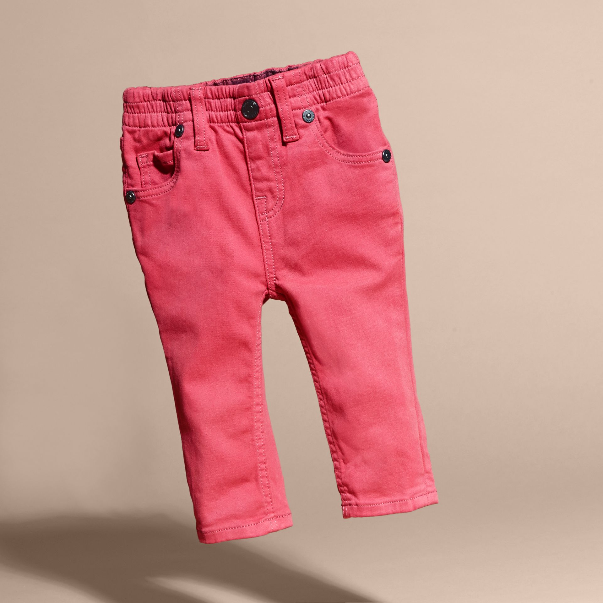 Stretch Cotton Blend Jeans - gallery image 3