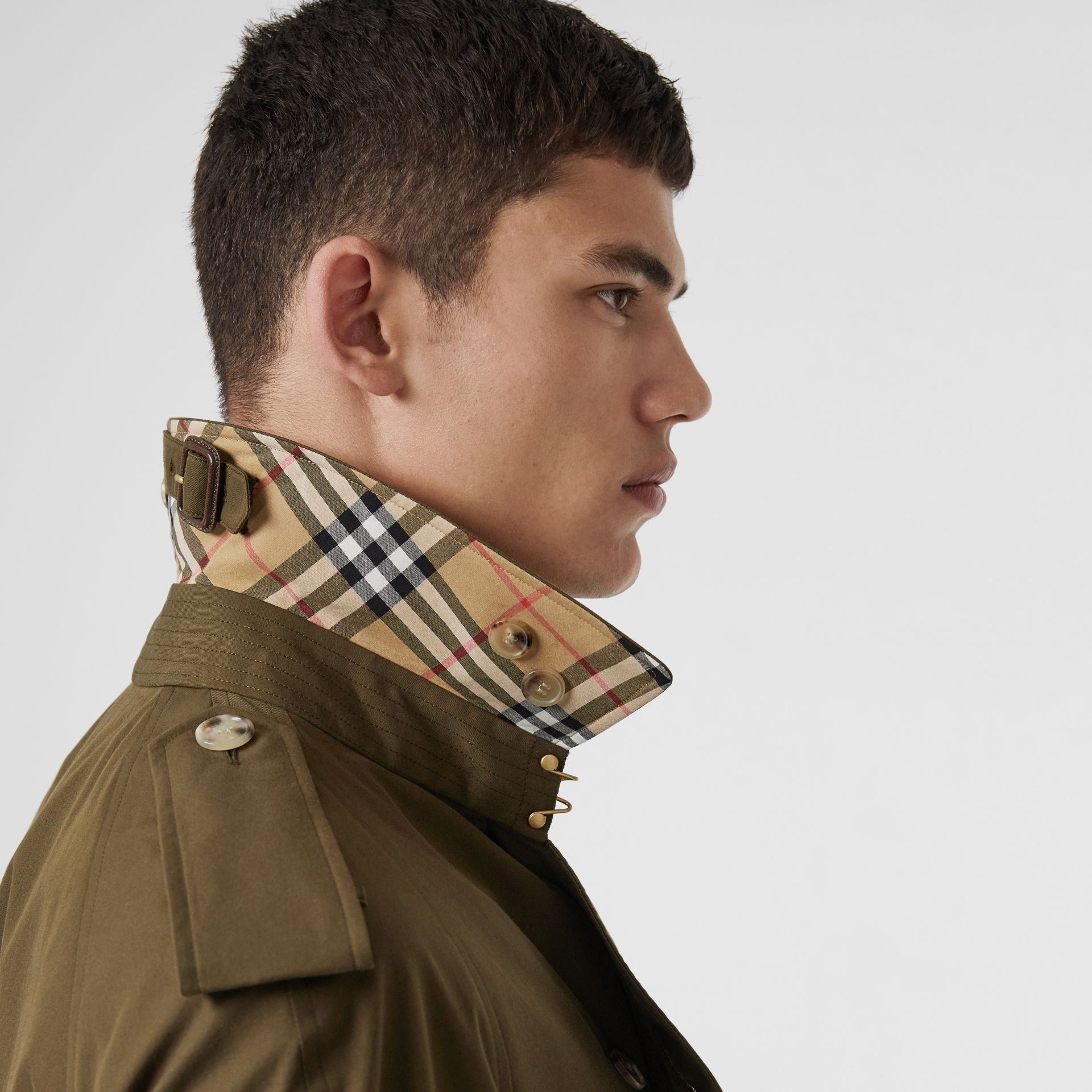 Trench coat Heritage The Westminster (Cachi Militare Scuro) - Uomo | Burberry - immagine della galleria 1