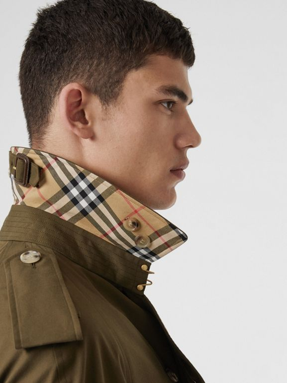 The Westminster Heritage Trench Coat in Dark Military Khaki - Men | Burberry United States - cell image 1