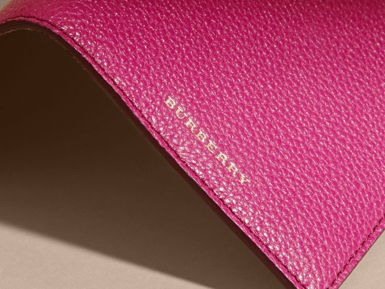 Grainy Leather Passport Holder - Women | Burberry - cell image 1