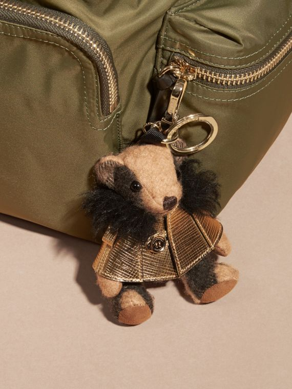 Thomas Bear Charm in Metallic Cape - cell image 2