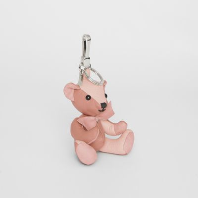 Thomas Bear Charm In Leather by Burberry
