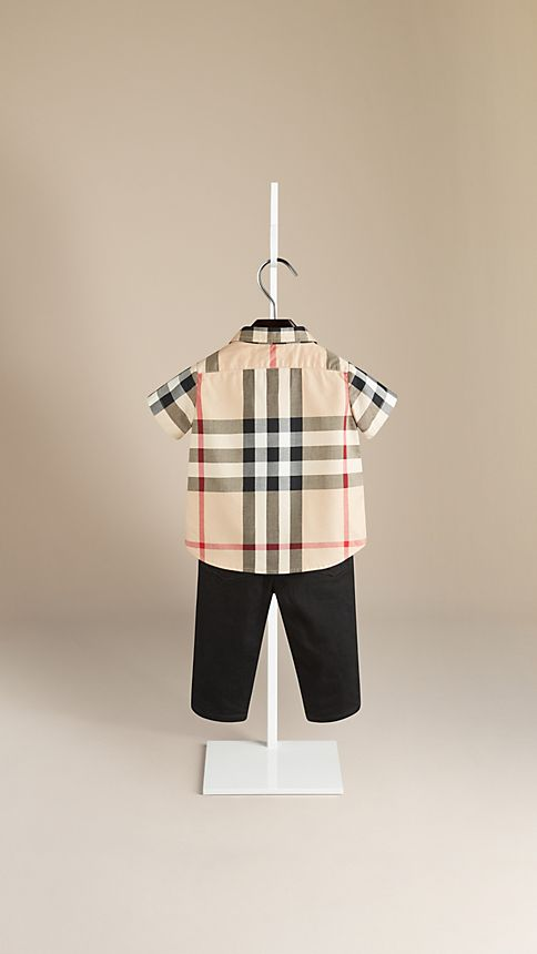 New classic check Check Cotton Twill Shirt - Image 2