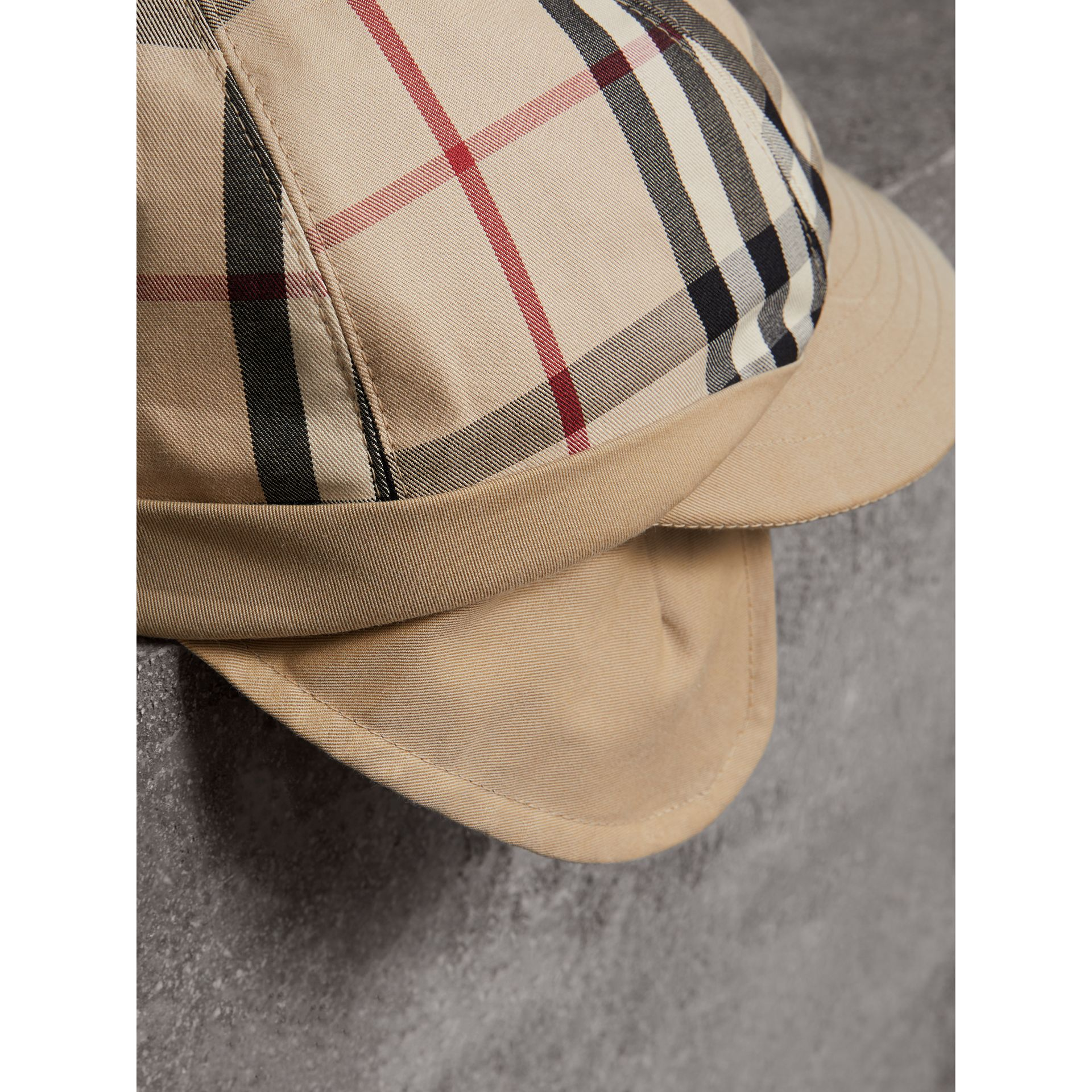 Gosha x Burberry Baseball Cap in Honey | Burberry Singapore - gallery image 1