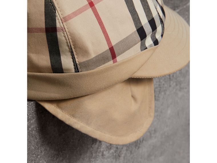 Gosha x Burberry Baseball Cap in Honey | Burberry Singapore - cell image 1
