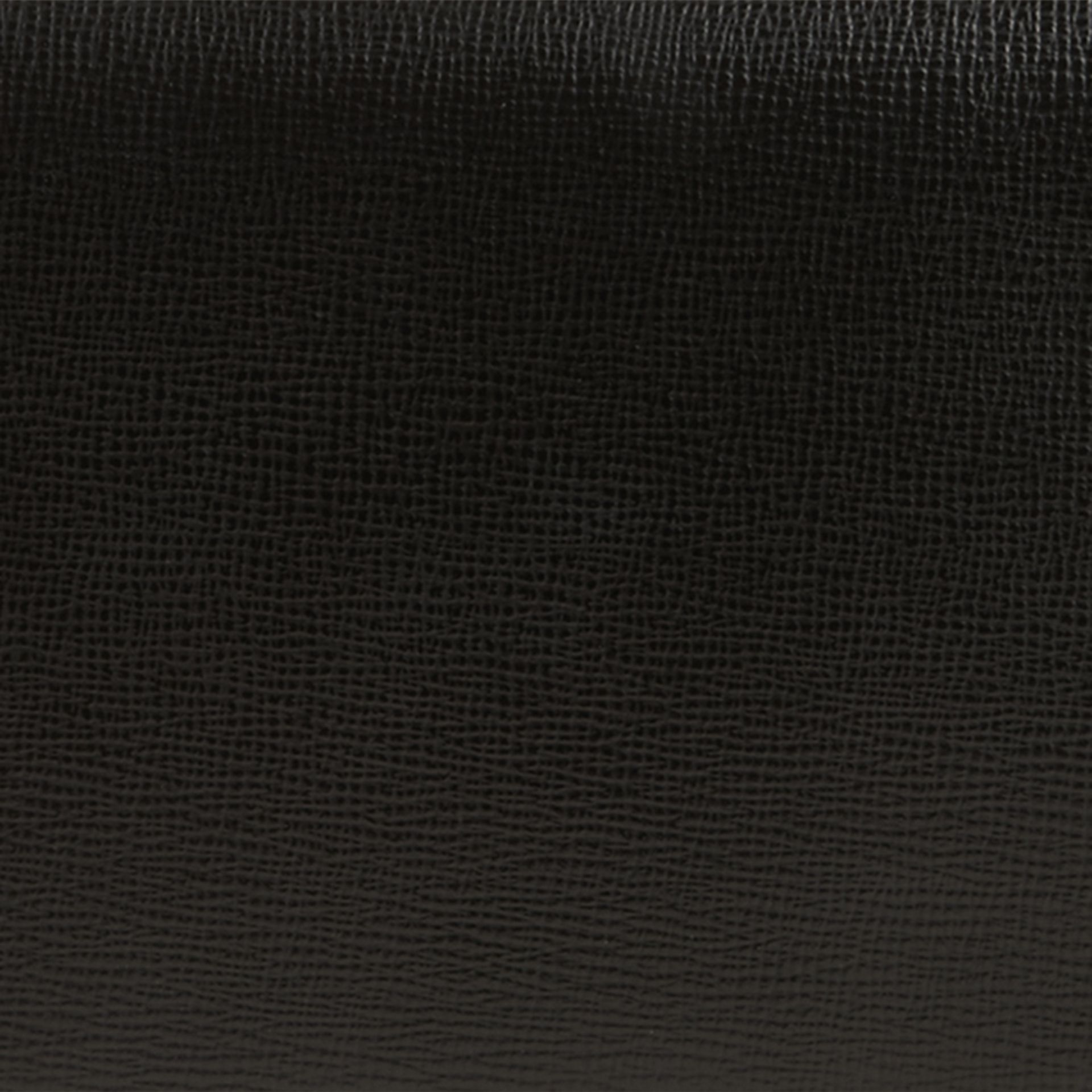 London Leather Travel Wallet in Black - gallery image 2