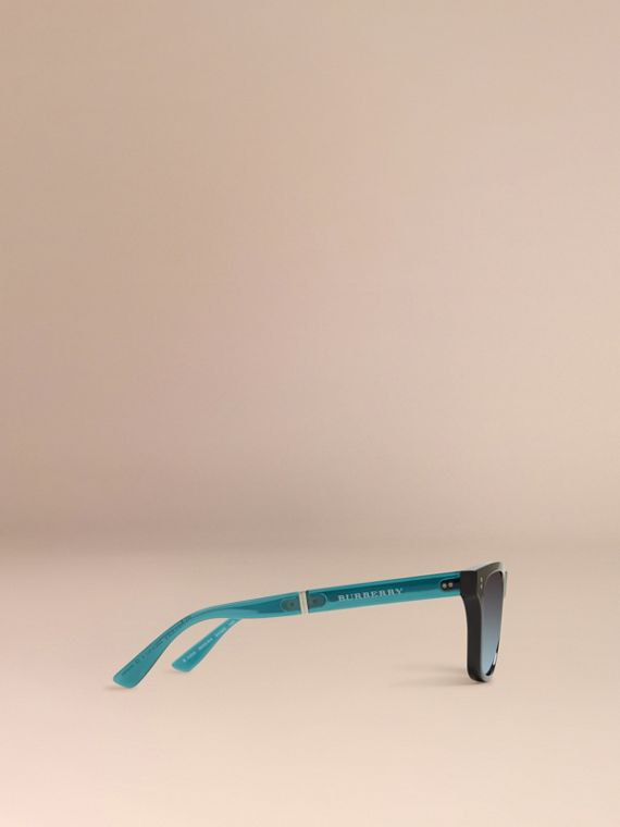 Foldable Rectangular Frame Sunglasses - cell image 3
