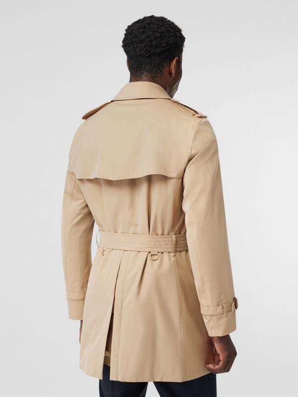 Short Chelsea Fit Trench Coat in Honey - Men | Burberry United Kingdom - cell image 2