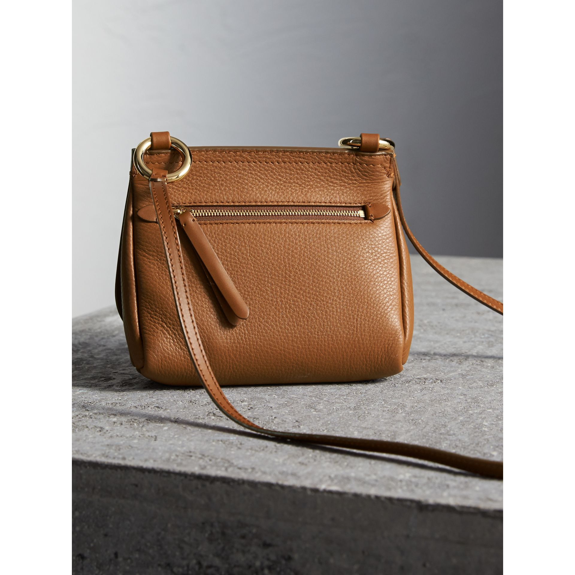 The Baby Bridle Bag in Leather in Tan - Women | Burberry - gallery image 4