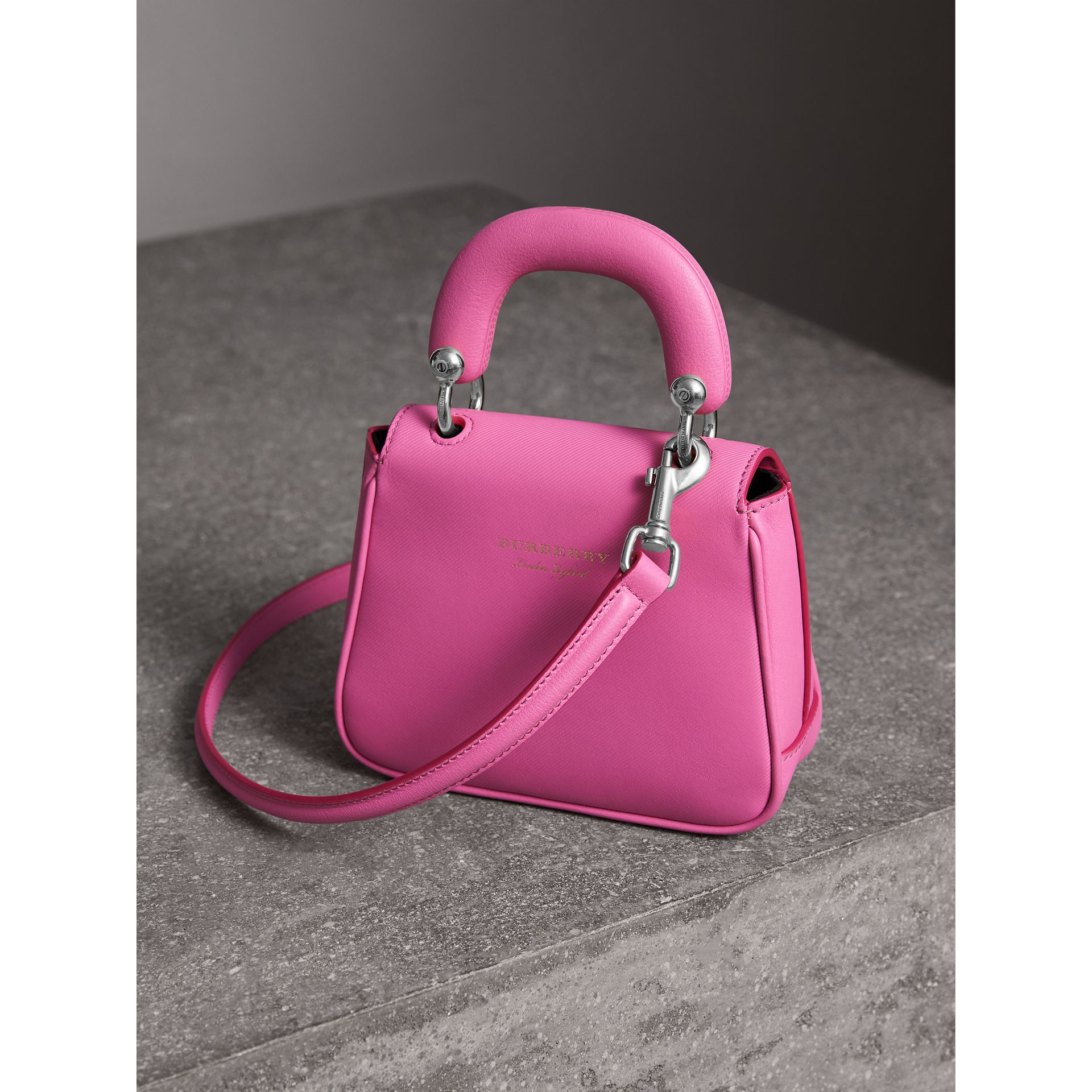The Mini DK88 Top Handle Bag in Rose Pink - Women | Burberry Canada - gallery image 3