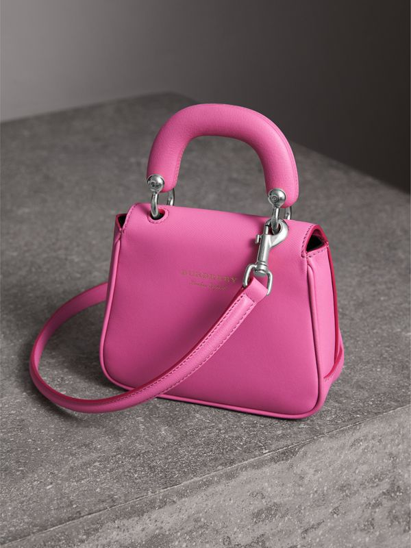 The Mini DK88 Top Handle Bag in Rose Pink - Women | Burberry - cell image 3