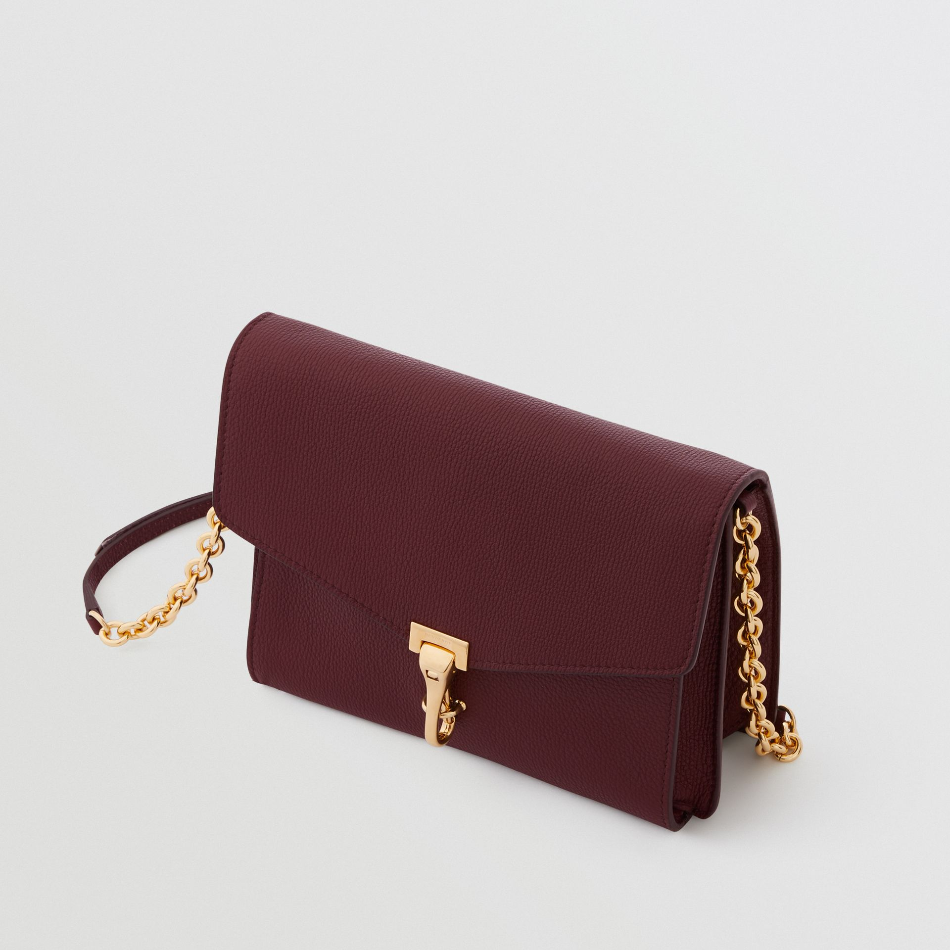 Small Leather Crossbody Bag in Mahogany Red - Women | Burberry United States - gallery image 4
