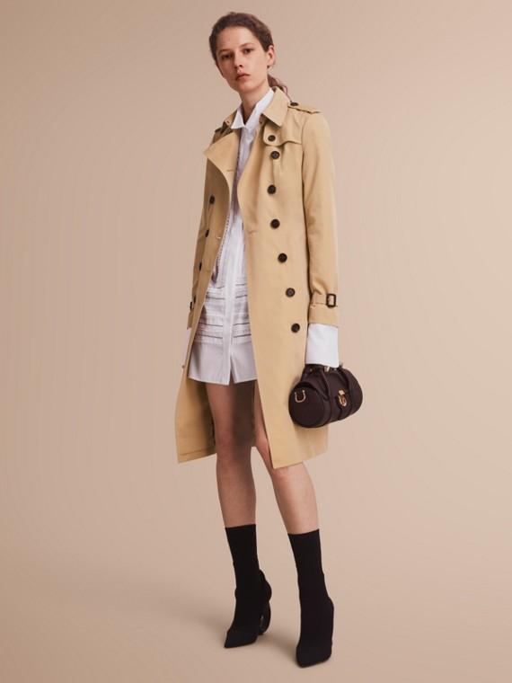 The Sandringham - Trench coat Heritage extra lungo Miele