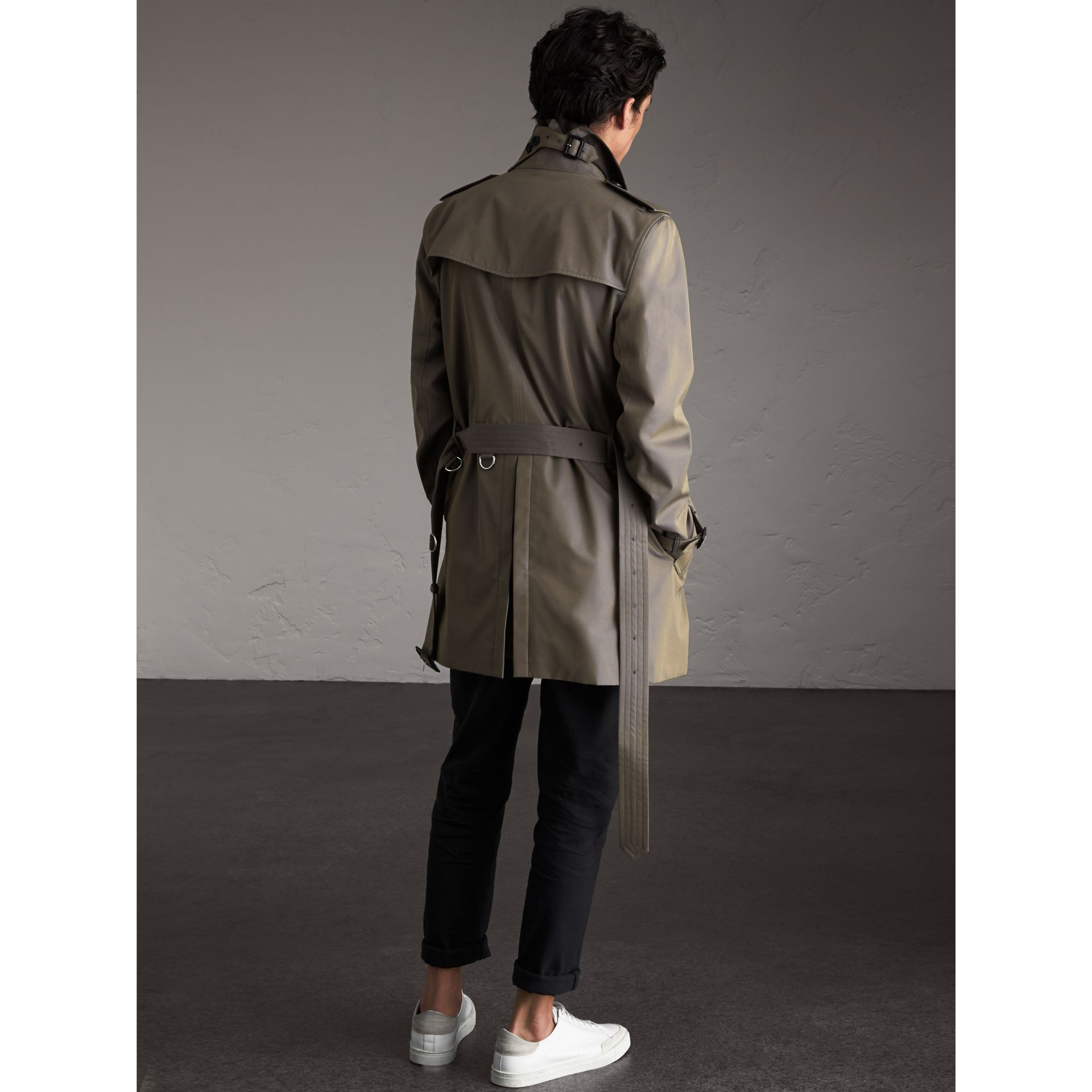 Cotton Gabardine Trench Coat - Men | Burberry Canada - gallery image 2