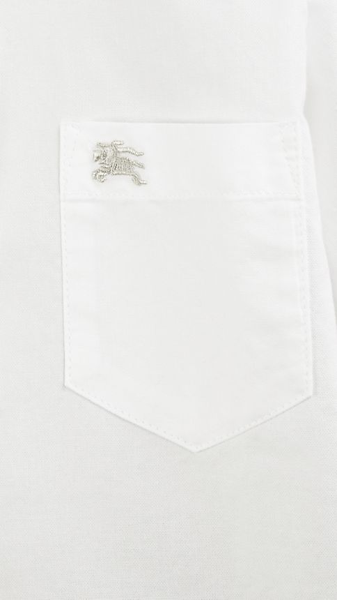 White Classic Oxford Shirt - Image 3
