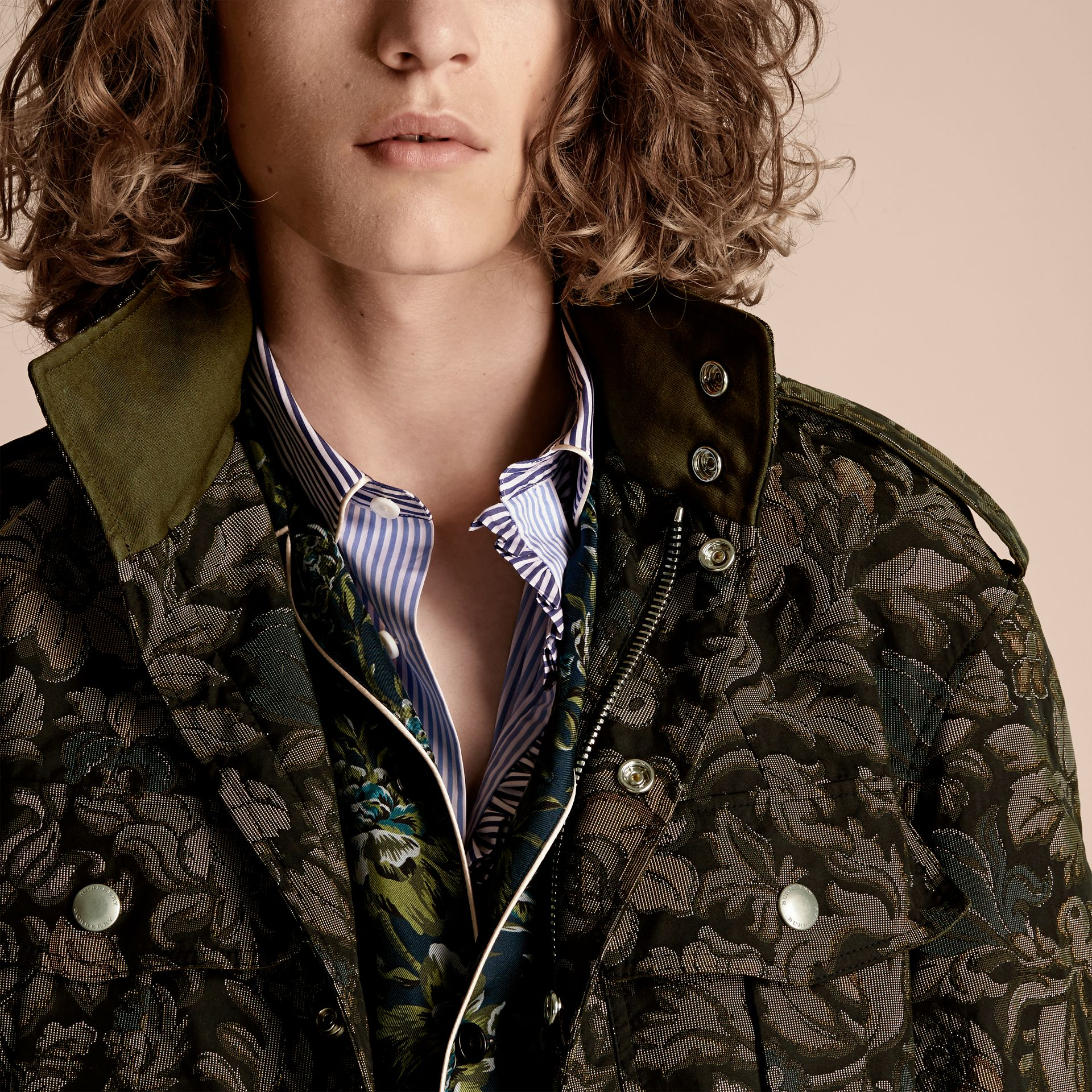 Sage The Floral Field Jacket - gallery image 5