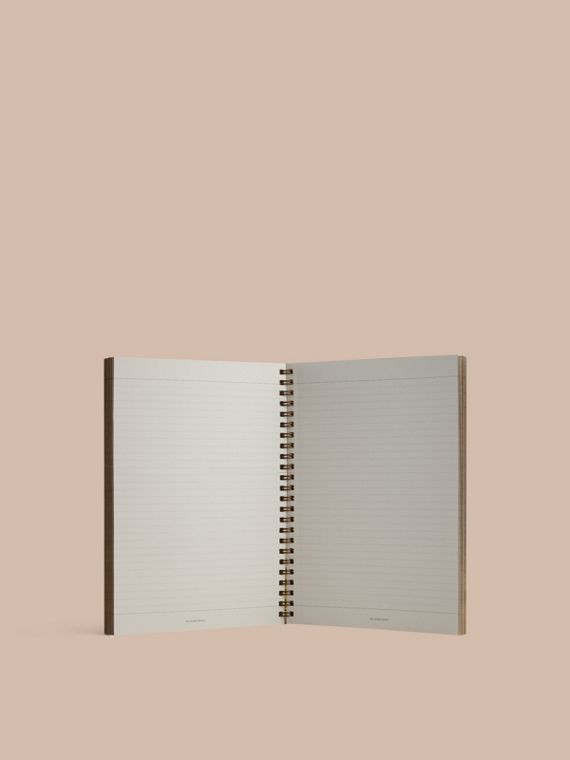 A5 Notebook Refill in Honey | Burberry - cell image 2