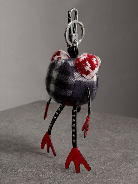 Doris The Frog Cashmere Charm in Black | Burberry Canada - cell image 3