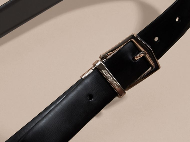 Reversible Bridle Leather Belt - Men | Burberry Singapore - cell image 1