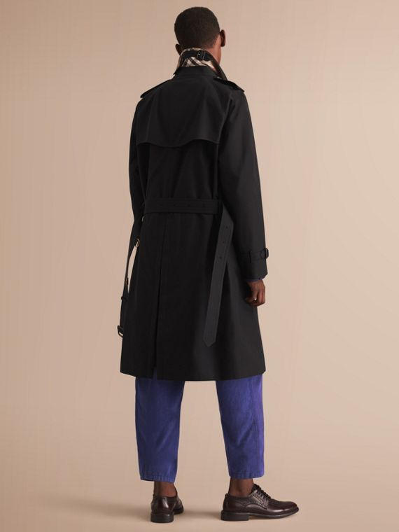 The Westminster – Long Heritage Trench Coat in Black - cell image 2