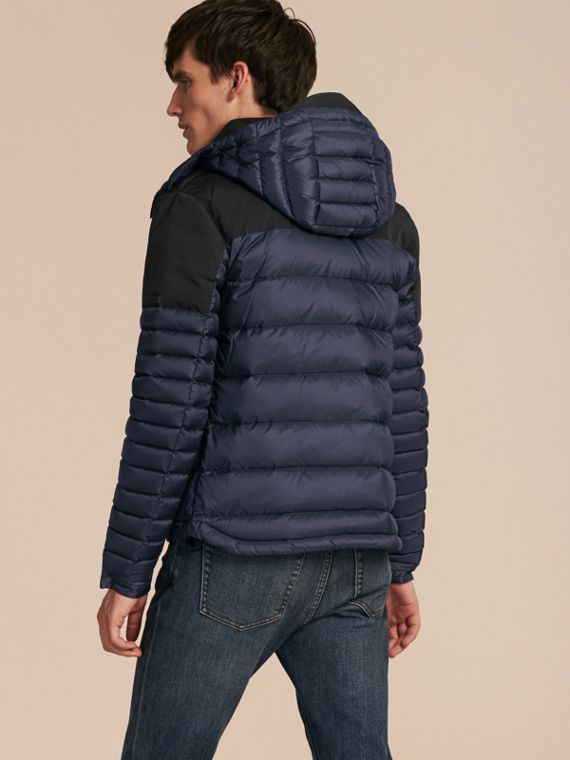 Navy Mid-weight Down-filled Technical Puffer Jacket Navy - cell image 2