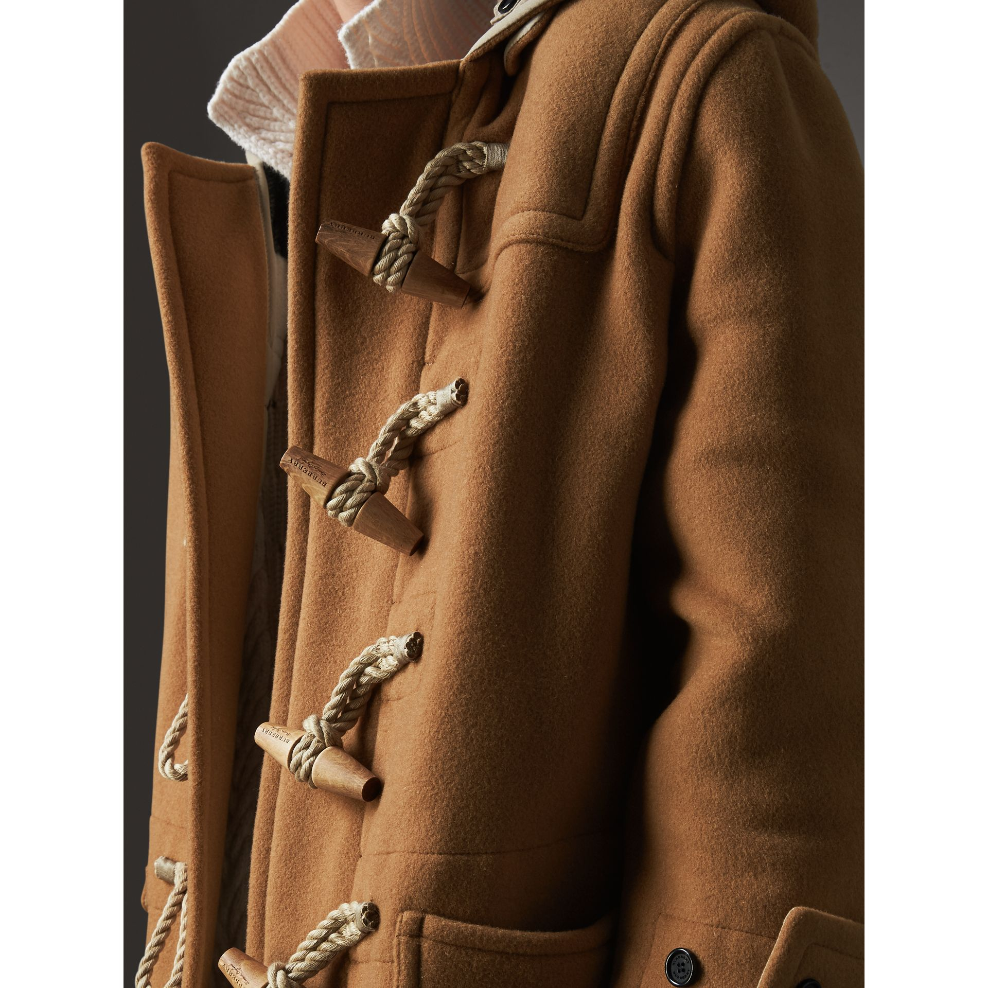 The Greenwich Duffle Coat in Mid Camel - Women | Burberry - gallery image 2