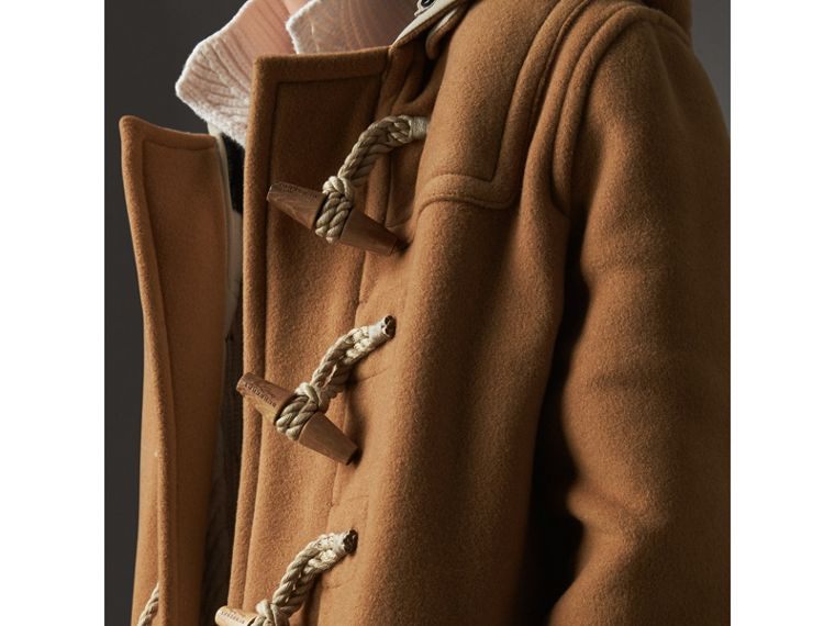 The Greenwich Duffle Coat in Mid Camel - Women | Burberry Hong Kong - cell image 1