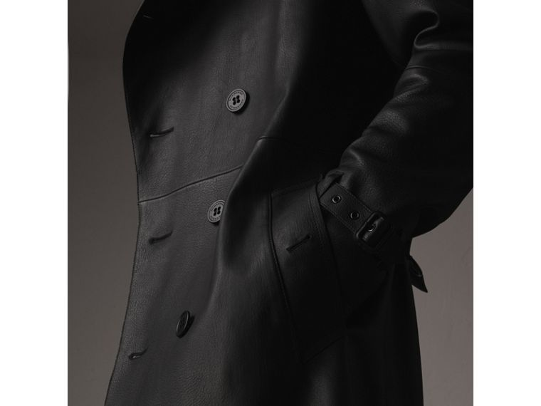 Lambskin Trench Coat - Men | Burberry - cell image 1